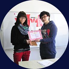 我院学生院李晓慧在全国海报设计大赛中喜获大奖
