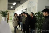 安徽新华学子赴360安徽安搜信息技术有限公司参观学习