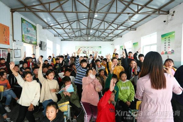"""""""科技进校园""""来到亳州建安中学、十河中学、三官中学"""